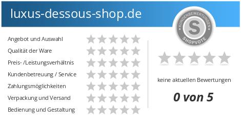 new concept 5c3da 8b631 luxus-dessous-shop.de Bewertungen und Kundenmeinungen ...