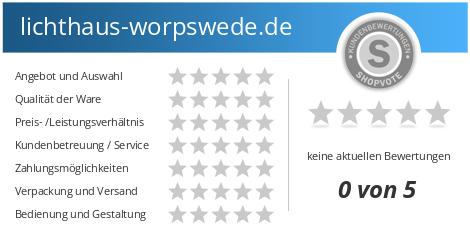 Lichthaus Worpswede De Bewertungen Und Kundenmeinungen Shopvote De