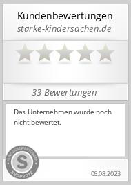 Shopbewertung - starke-kindersachen.de