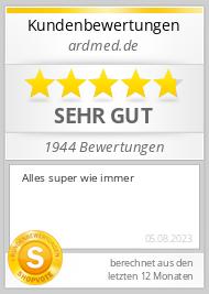 Shopbewertung - ardmed.de