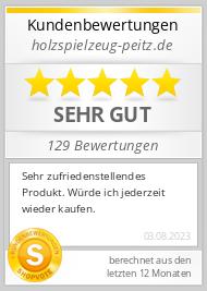 Shopbewertung - holzspielzeug-peitz.de