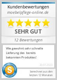 Shopbewertung - moebelpflege-online.de