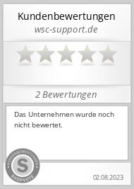 Shopbewertung - wsc-support.de