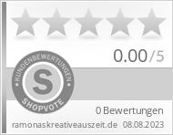 Shopbewertung - ramonaskreativeauszeit.de