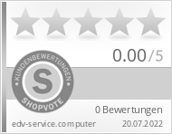 Shopbewertung - edv-service.computer