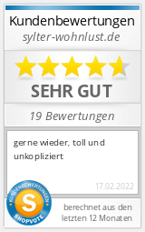 Shopbewertung - sylter-wohnlust.de