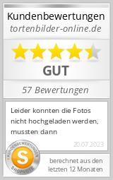 Shopbewertung - tortenbilder-online.de