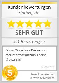 Shopbewertung - slotblog.de