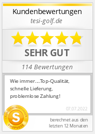 Shopbewertung - tesi.golf.de