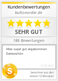 Shopbewertung - buttonorder.de