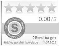 Shopbewertung - kiddies-geschenkewelt.de