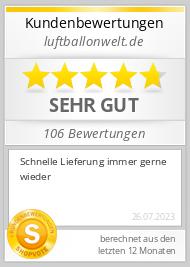 Shopbewertung - luftballonwelt.de