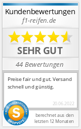 Shopbewertung - f1-reifen.de