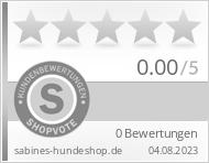 Shopbewertung - sabines-hundeshop.de