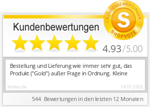Shopbewertung - emiko.de