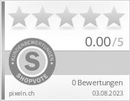 Shopbewertung - pixeln.ch