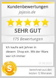 Shopbewertung - jajasio.de