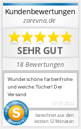 Shopbewertung - zarevna.de