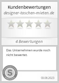 Shopbewertung - designer-taschen-mieten.de