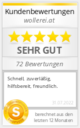Shopbewertung - wollerei.at