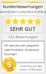 Shopbewertung - maienfelser-naturkosmetik.de