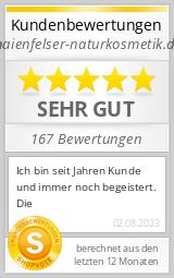 Shopbewertung - maienfelser-naturkosmetik.de