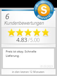 Shopbewertung - globasid.de