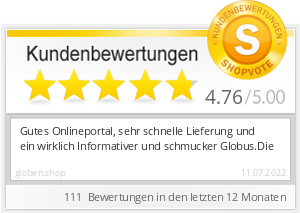Shopbewertung - globen.shop