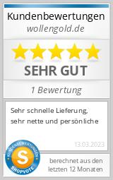 Shopbewertung - wollengold.de