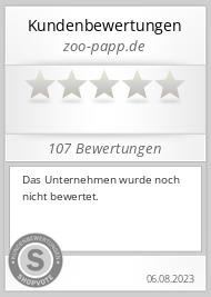 Shopbewertung - zoo-papp.de
