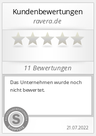 Shopbewertung - ravera.de