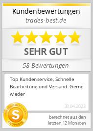 Shopbewertung - trades-best.de