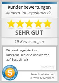 Shopbewertung - kamera-im-vogelhaus.de