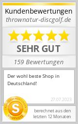 Shopbewertung - thrownatur-discgolf.de