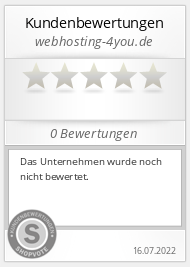 Shopbewertung - webhosting-4you.de