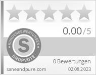 Shopbewertung - saneandpure.com