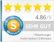 Shopbewertung - shop.aqua-paso.de