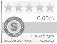 Shopbewertung - stelzlager-technik.com