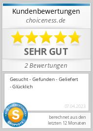 Shopbewertung - choiceness.de