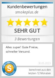 Shopbewertung - smokers-paradize.de