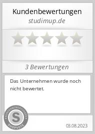 Shopbewertung - studimup.de