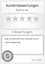 Shopbewertung - liyane.de