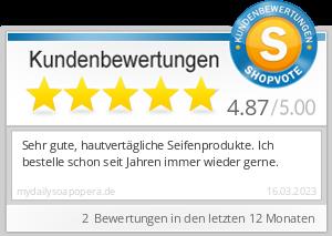 Shopbewertung - mydailysoapopera.de