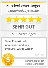 Shopbewertung - handmadebyvieri.de