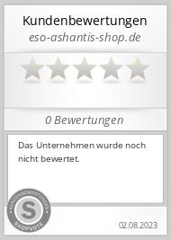 Shopbewertung - eso-ashantis-shop.de