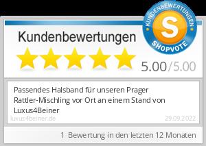 Shopbewertung - luxus4beiner.de