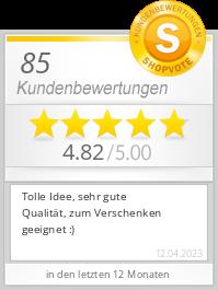 Shopbewertung - uhrenarmbandkalender.de