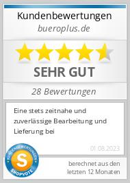 ShopVote Bewertungen - Bueroplus.de