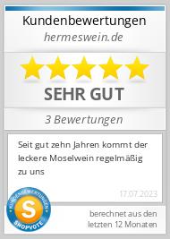 Shopbewertung - hermeswein.de