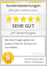 Shopbewertung - fotouhr-online.com